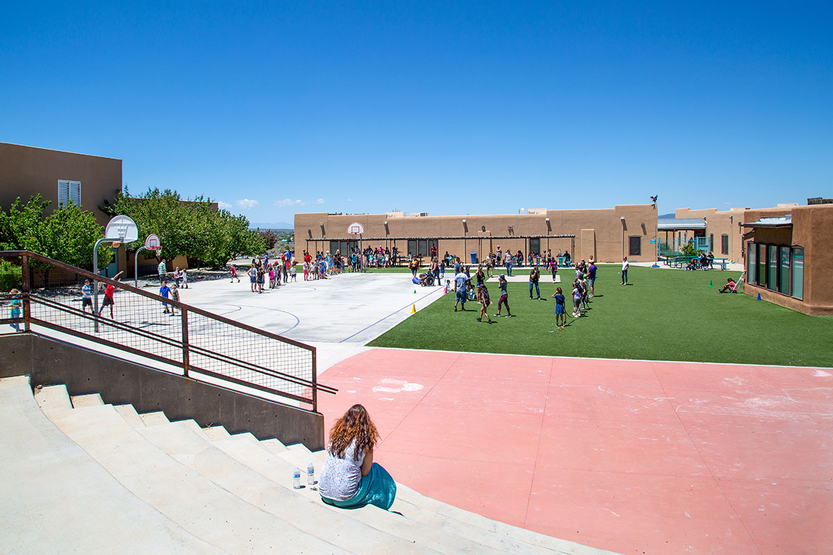 TAOS CHARTER SCHOOL PLAYGROUNDS
